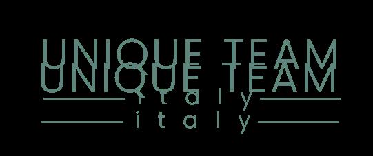 logo unique team italy